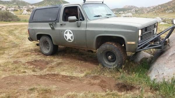 Chevrolet Blazer Two Door Green For Sale