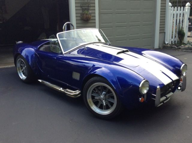 Home Wiring White Color Shelby Factory Five Mk4 Convertible 1965 Blue For Sale