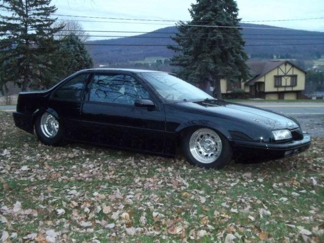 Chevrolet Beretta Coupe 1989 Black For Sale 1g1lv14wxky122770 Pro Street Or Drag Race 8 50 Nhra