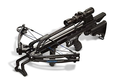 Carbon Express Intercept Axon Crossbow On White Background