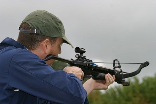 Aiming With Crossbow