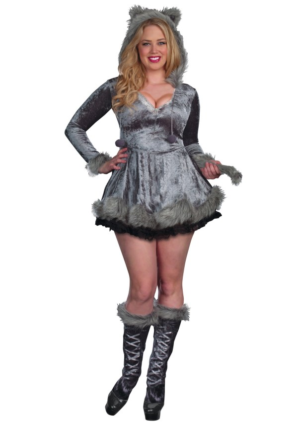 Size Bad Sexy Wolf Costume - Halloween Ideas 2019