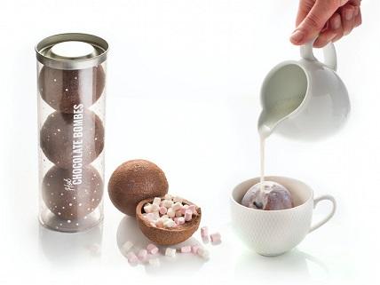 Chokoladebomber til Varm Chokolade 3-pak Image