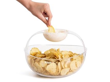 KitchPro® Chips- og Dipskål Image