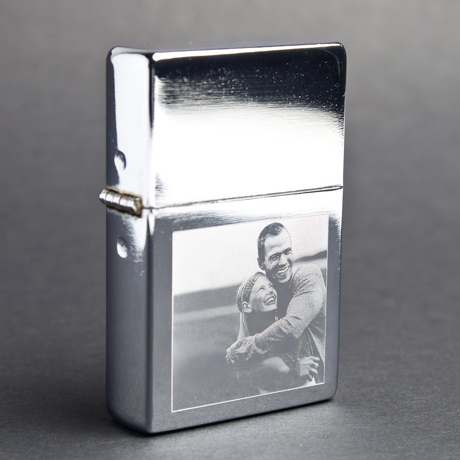 Lighter med gravering Image