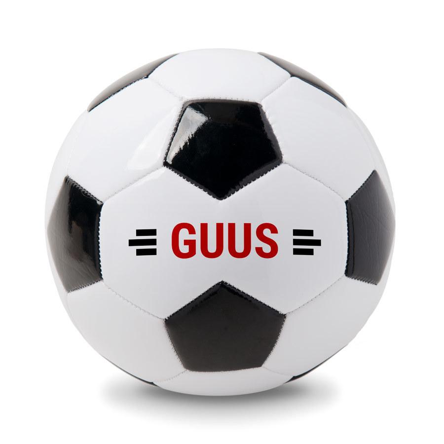Personaliseret fodbold med navn Image