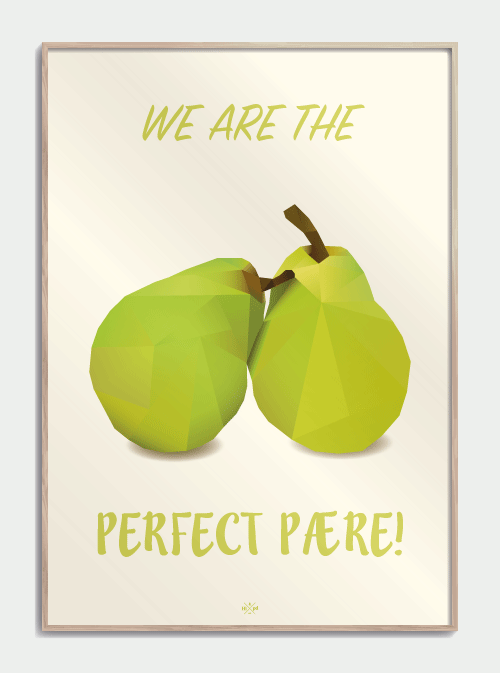 The perfect pære – plakat Image