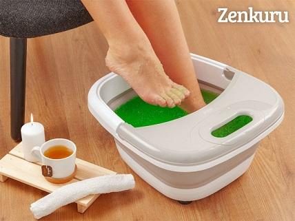 Zenkuru® Sammenklappeligt Fodbad med Massage og Varme Image