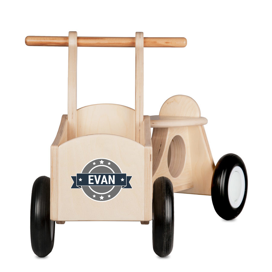 Trælastcykel med navn Image