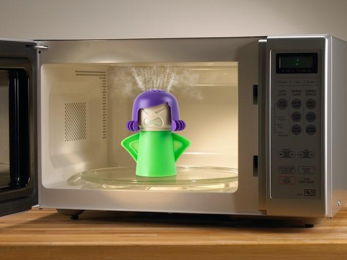 Angry Mama Rengøring til mikrobølgeovnen Image
