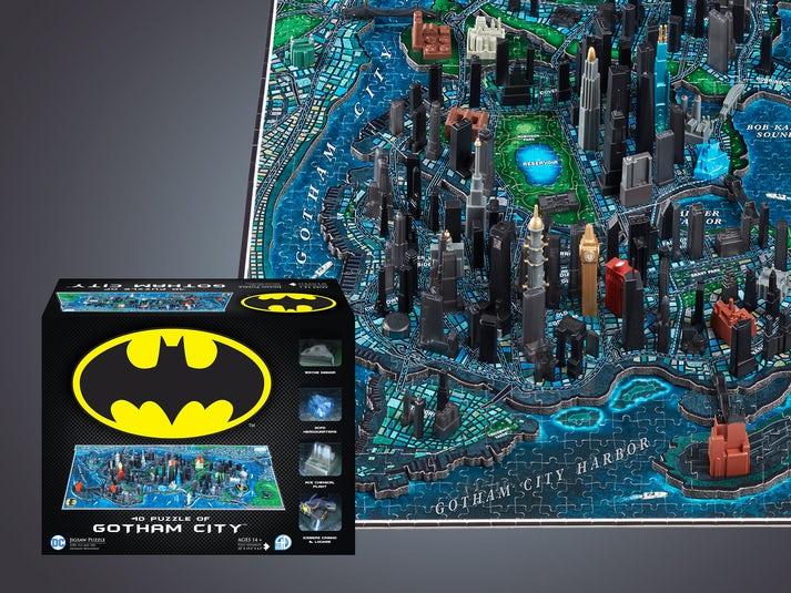 Batman Gotham City 4D-Puslespil Image