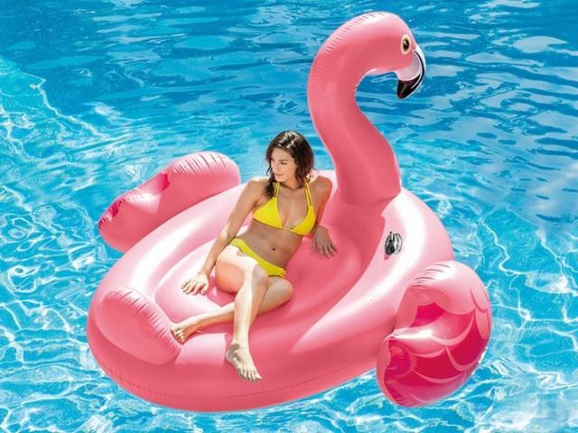 Intex Flamingo Mega Luftmadras Image