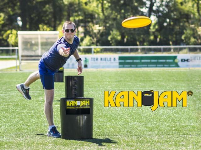 KanJam Frisbee Spil Image