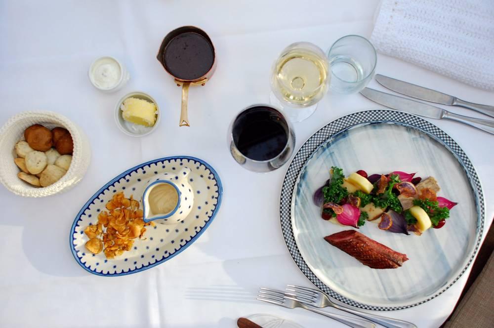 Middag for 2 på Lyng Dal Restaurant Image