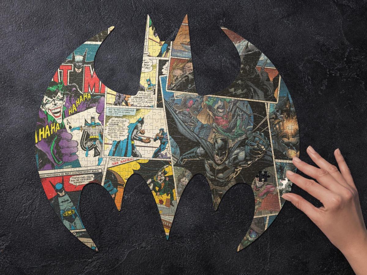 DC Comics Batman Pussel Image