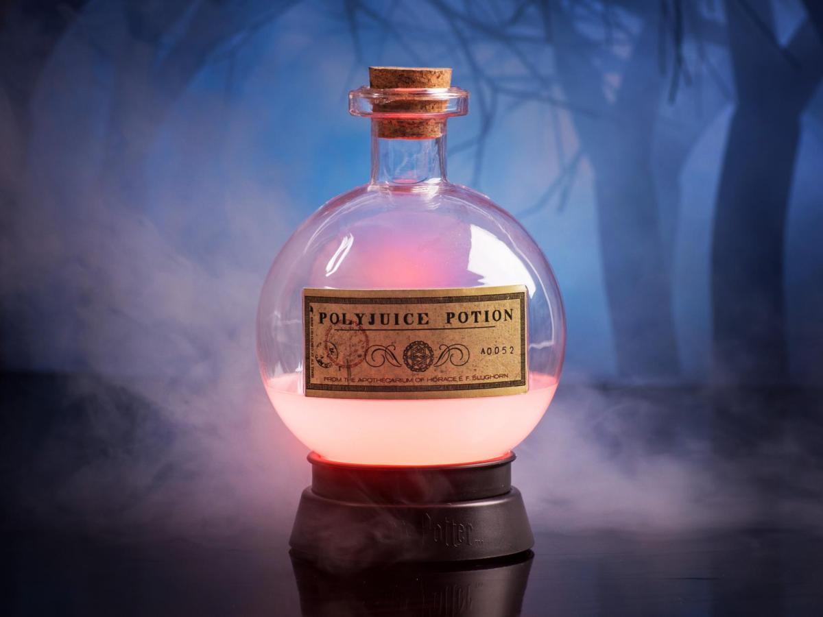 Harry Potter Polyjuice Potion Farveskiftende Lampe Image
