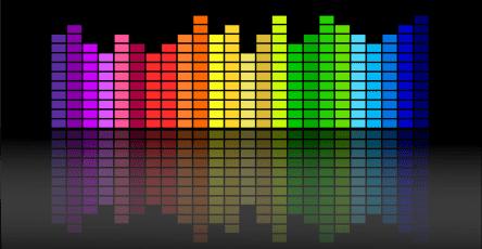 color bars equalizer