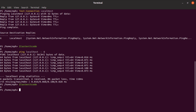 PowerShell on LINUX? 2