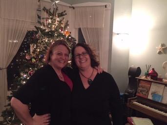 Merry Christmas from Rach & Sarah