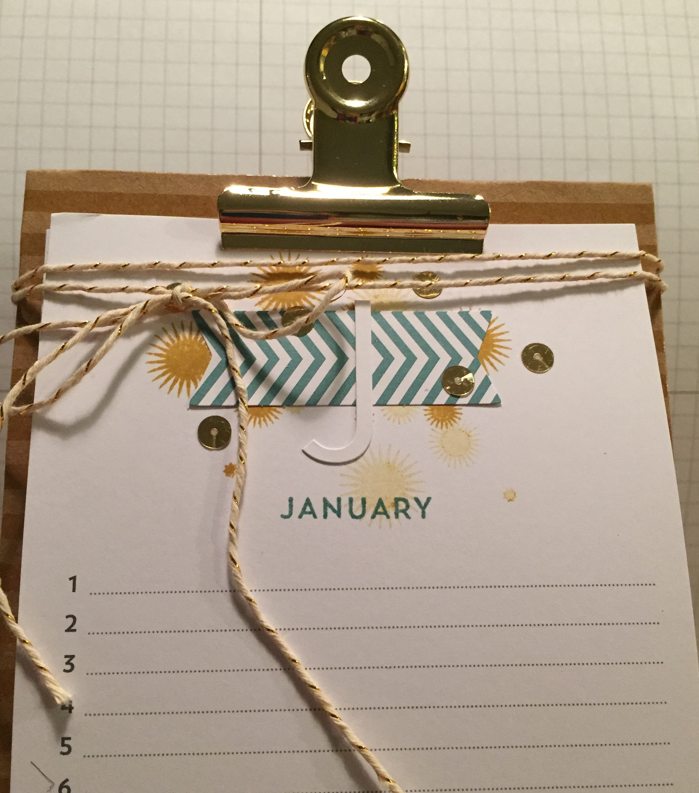 Simply Created Perpetual Calendar Kit