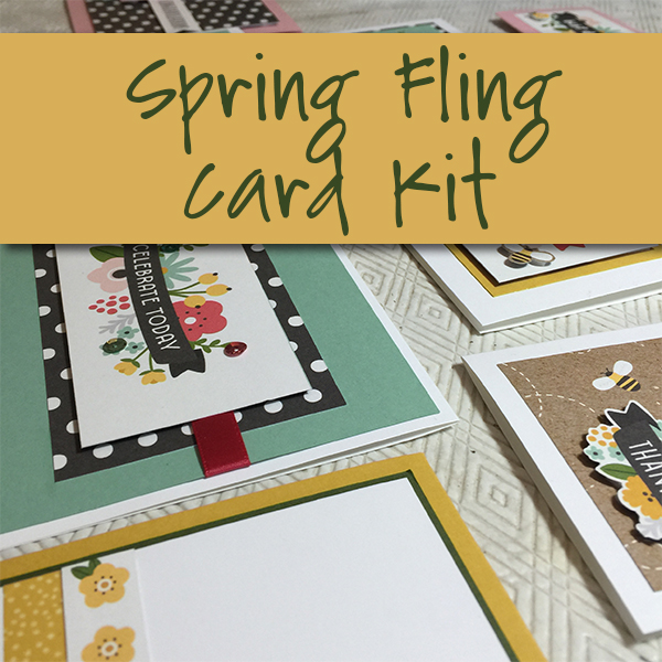 Spring Fling Card Kit Product