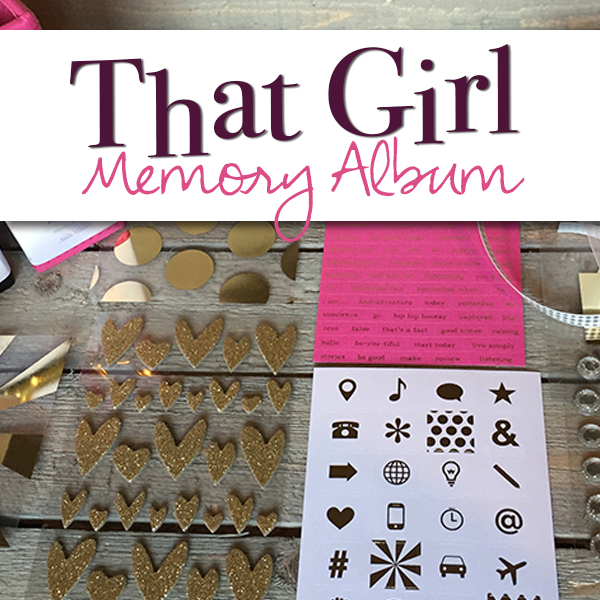 That Girl Memory Album Product