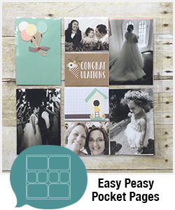 Shopping Category - Easy Peasy Pocket Pages