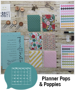 Shopping Category - Planner Pops & Poppies