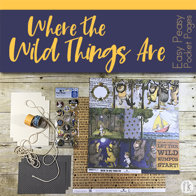 Where the Wild Things Are Easy Peasy Kit - Featured