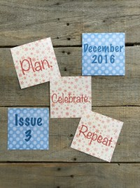 Paper Planning Magazine - Issue 3 - December 2016