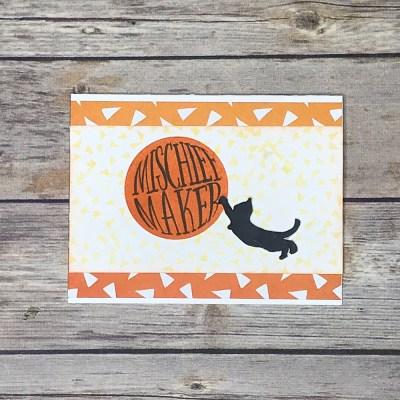 Shenanigans Mischief Maker Card