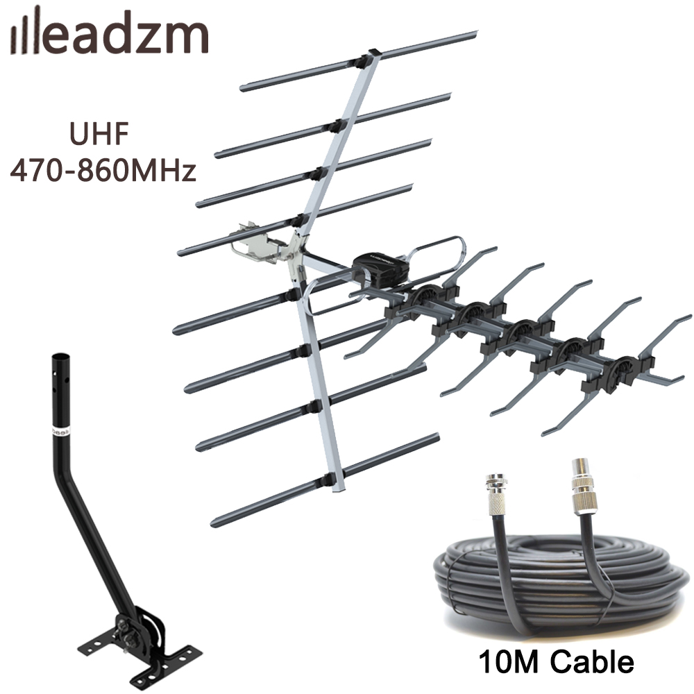 TV Aerial Outdoor UHF 4G Filter 32 Element Freeview