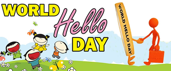 Image result for world hello day 2018
