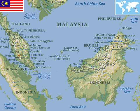 Malaysia World Atlas Find Fun Facts