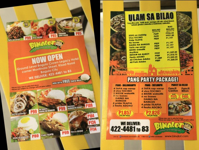 Unwrapping Binalot  X Marks the Spot for Good Baguio Foods