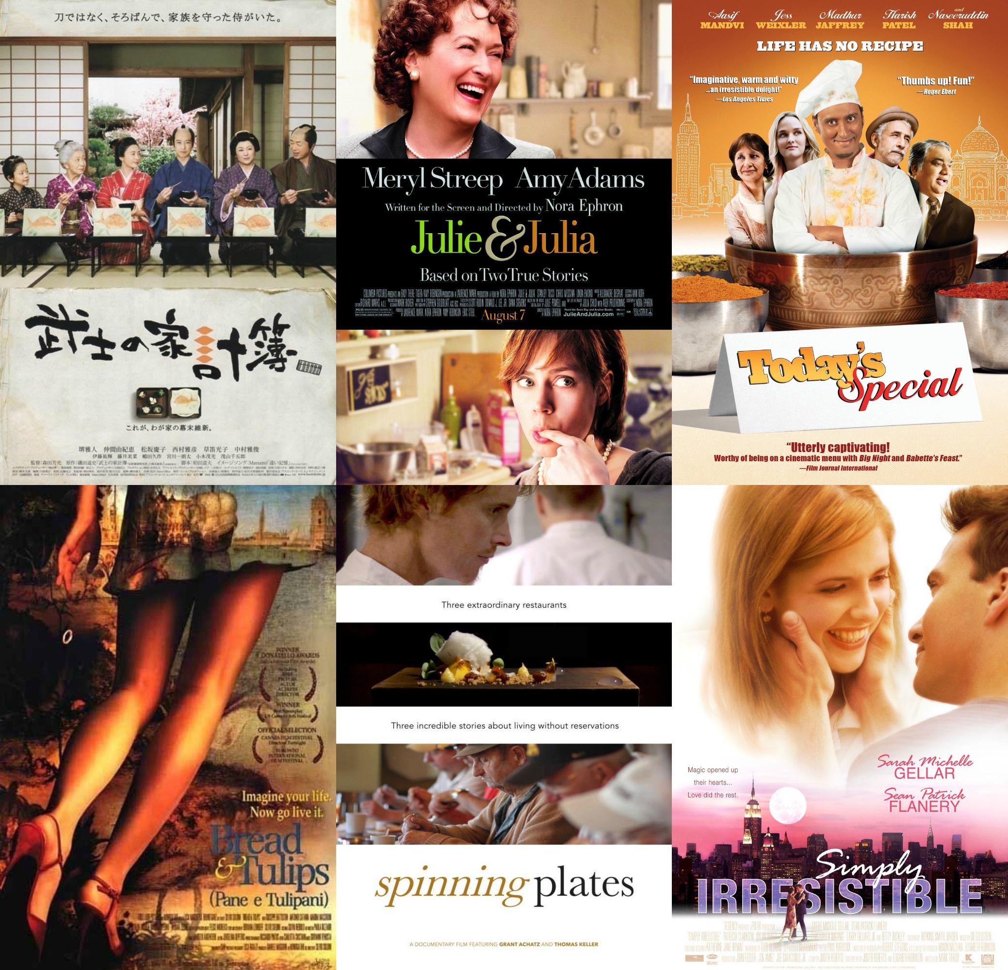 Intermission Binge Watching Food Movies