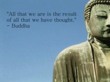 thoughts buddha