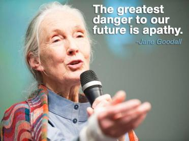 Apathy - Jane Goodall