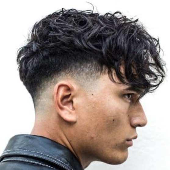dokulu saçak saç kesimi - Erkek Saç Modelleri 2019