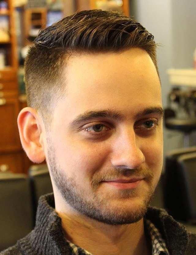 klasik konik saç kesimi - Erkek Saç Modelleri 2019