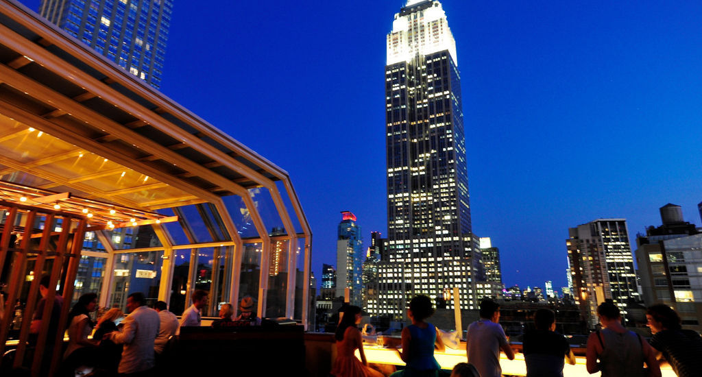 Nyc Night View Restaurant Top