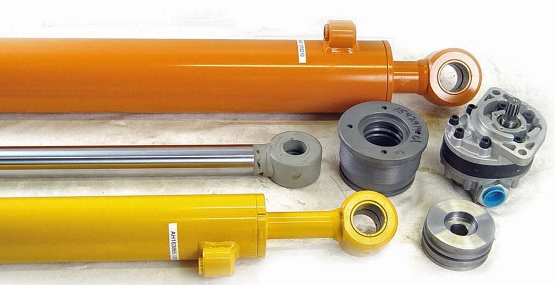 Components of a hydraulic cylinder - Find Hydraulic
