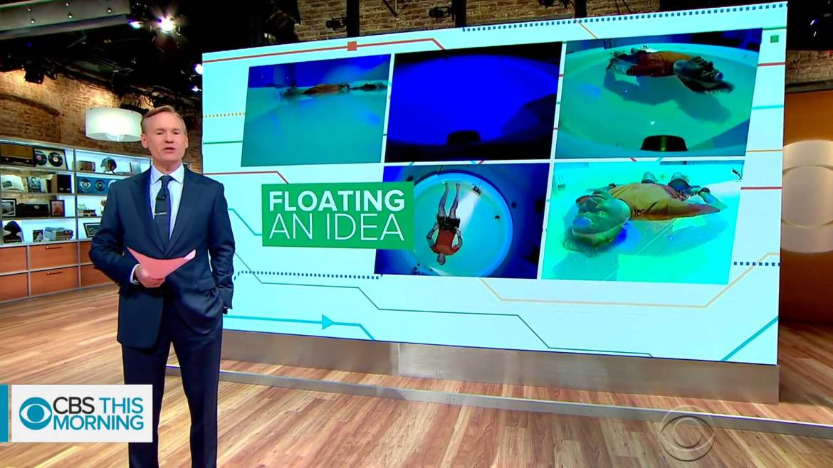 CBS News Discusses Float Therapy