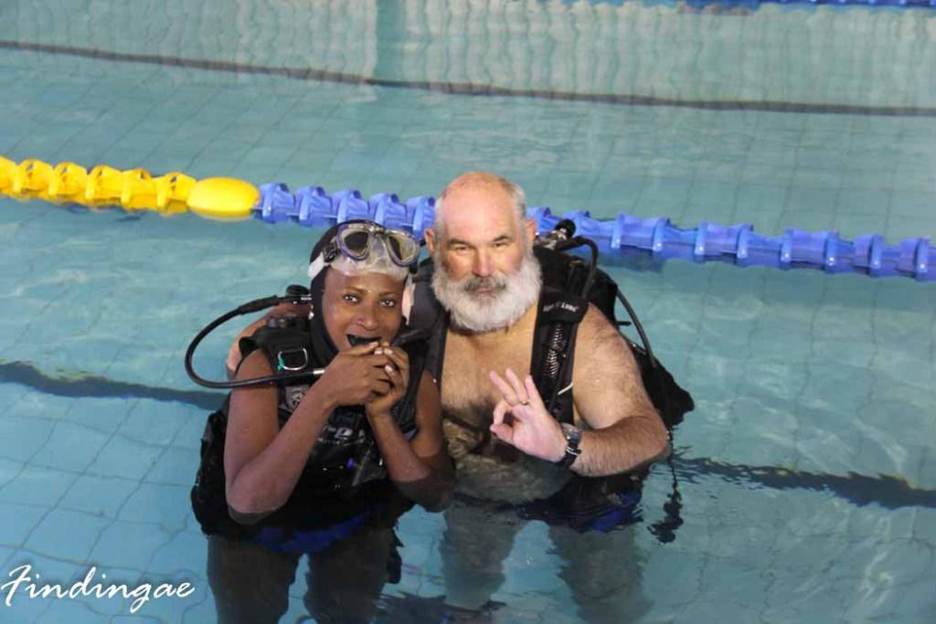 Suba Diving Lesson