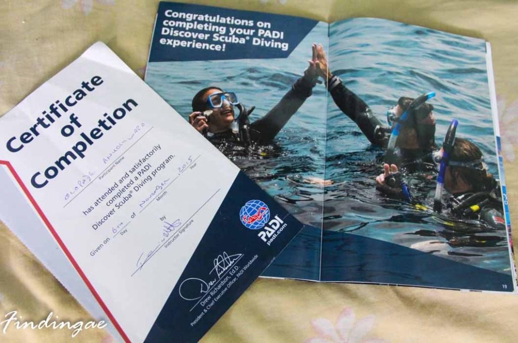 Padi Suba Diving