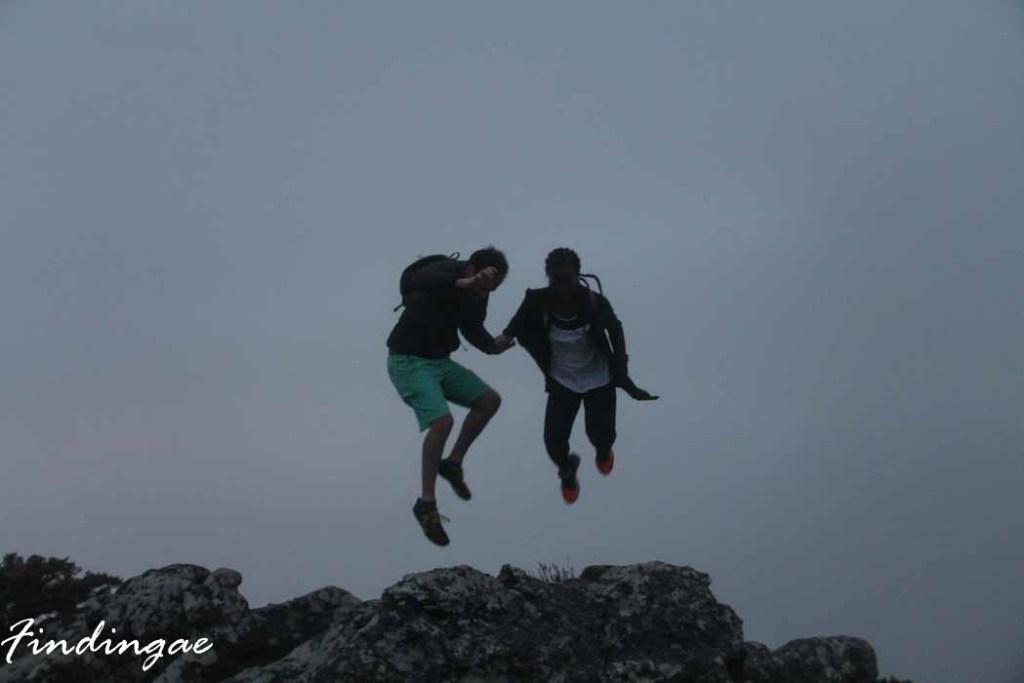 Table Mountain Jump