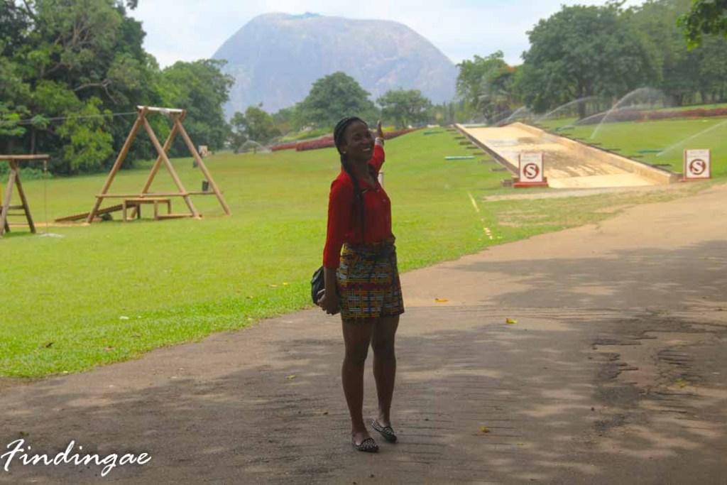 Millrnium Park or Aso Rock