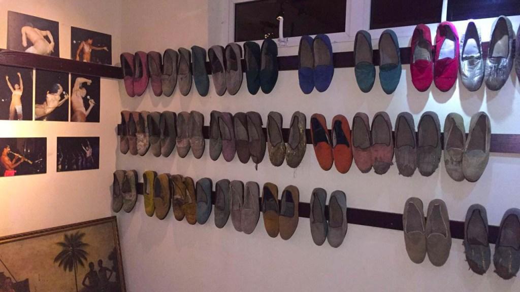 Fela Shoes at the Kalakuta Museum