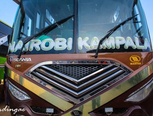 Nairobi to Kamapla by Bus