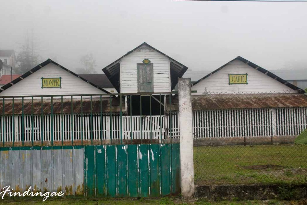 Center of Sao Tome Island